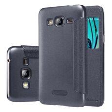 Nillkin Sparkle flip tok Samsung J320 Galaxy J3 2016, fekete