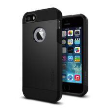 Spigen SGP Tough Armor Apple iPhone SE/5s/5 Black hátlap tok
