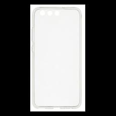USAMS Primary Huawei P10 szilikon tok, fekete-átlátszó