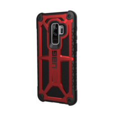 UAG Monarch Samsung G965 Galaxy S9+ hátlap tok, Crimson