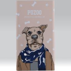 Puzoo powerbank 11000mah artdog brown aboo