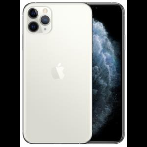 Apple iPhone 11 Pro Max 256GB ezüst, Kártyafüggetlen, 1 év Gyártói garancia