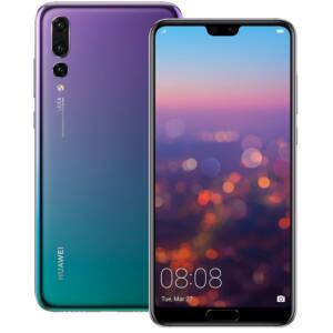 Huawei P20 Pro 128GB twillight, Kártyafüggetlen, 2 év Gyártói garancia