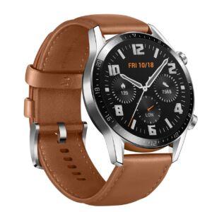 Huawei Watch GT 2 barna okosóra, 2 év Gyártói garancia, 46mm