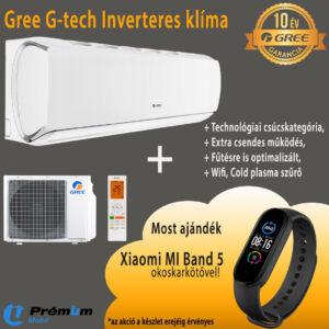 GREE GWH09AEC-K6DNA1A G-TECH INVERTER KLÍMA, WIFI, 2,7 KW, 10 ÉV Garancia