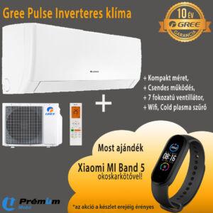 Gree GWH09AGA-K6DNA1A Pulse Inverter Klíma, WIFI, 2,5 KW, 10 Év Garancia