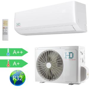 HD Maximus HD HDWI-MAXIMUS-127A / HDOI-MAXIMUS-127A Inverteres Oldalfali Split Klíma 3,6 kW