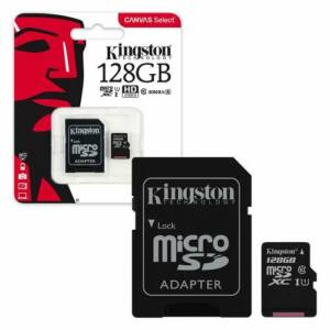 Kingston Micro SD 128GB Class10
