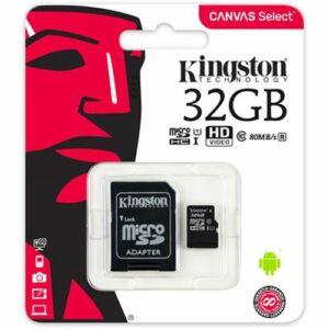 Kingston Micro SD 32GB Class10