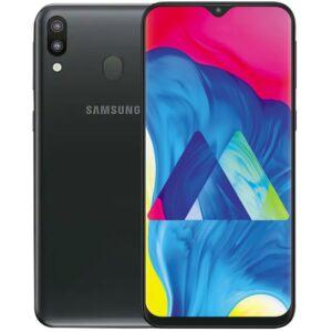 Samsung M20 (M205) 64GB Dual SIM fekete, Kártyafüggetlen, 1 év Gyártói garancia