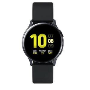 Samsung R820 Galaxy Watch Active 2 44mm alumínium fekete, 1 év Gyártói garancia