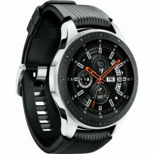 Samsung Galaxy Watch 46 mm (R800) ezüst, 1 év Gyártó garancia