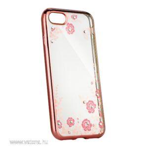 Forcell Diamond tok iPhone SE készülékhez, rozéarany