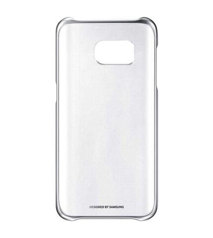 Samsung Galaxy S7 gyári Clear Cover hátlap tok, fekete, EF-QG930CB