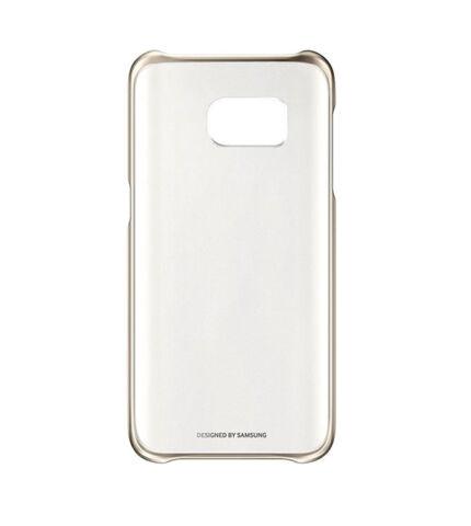 Samsung Galaxy S7 gyári Clear Cover hátlap tok, arany, EF-QG930CF