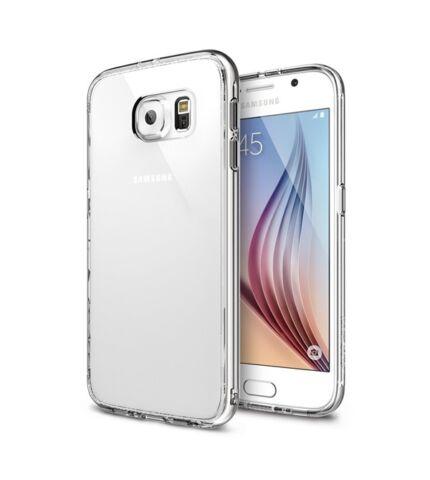 Samsung G920 Galaxy S6 Ultra Slim 0.3 mm szilikon hátlap tok, átlátszó