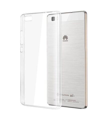 Huawei P8 Lite Ultra Slim 0.3 mm szilikon hátlap tok, átlátszó