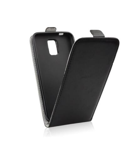 Flip tok szilikon belsővel, Huawei P8, fekete