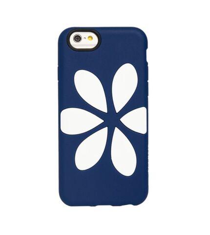 Agent18 FlowerVest Apple iPhone 6/6S Navy/White hátlap tok
