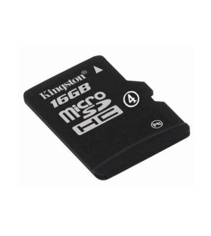 Kingston microSDHC 16GB (Class 4) memóriakártya adapterrel