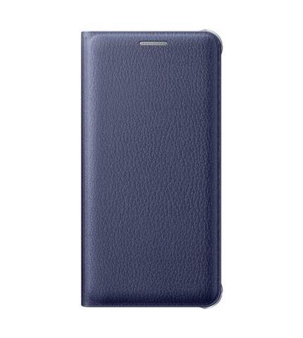 Samsung Galaxy A3 (2016) gyári flip tok, fekete, EF-WA310PB, (SM-A310)