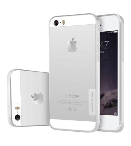 Nillkin Nature TPU hátlap tok Apple iPhone SE/5S/5, átlátszó