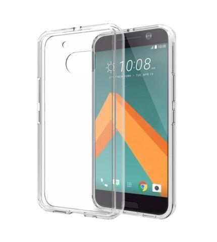 HTC 10 Ultra Slim 0.3 mm szilikon hátlap tok, átlátszó