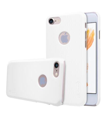 Nillkin Super Frosted hátlap tok Apple iPhone 7, fehér + ajándék kijelzővédő fólia