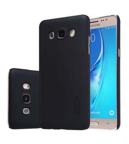 Nillkin Super Frosted hátlap tok Samsung J510 Galaxy J5 (2016), fekete + ajándék kijelzővédő fólia