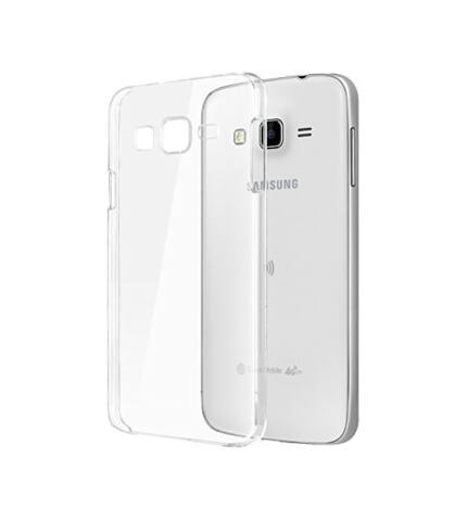 Samsung Galaxy J2 (2016) Ultra Slim 0.3 mm szilikon hátlap tok, átlátszó