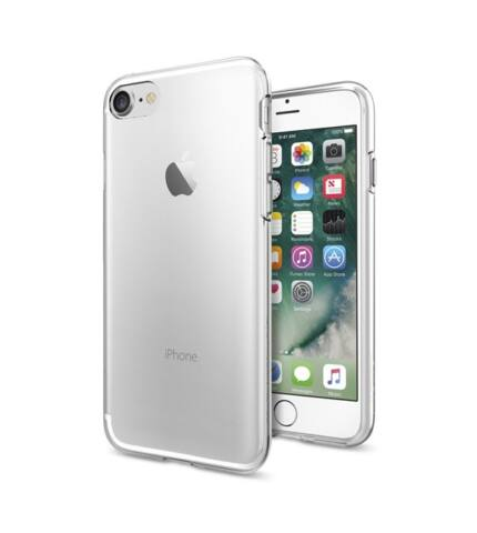 Spigen SGP Liquid Crystal Apple iPhone 8/7 Crystal Clear hátlap tok