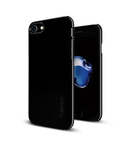 Spigen SGP Thin Fit Apple iPhone 8/7 Jet Black hátlap tok