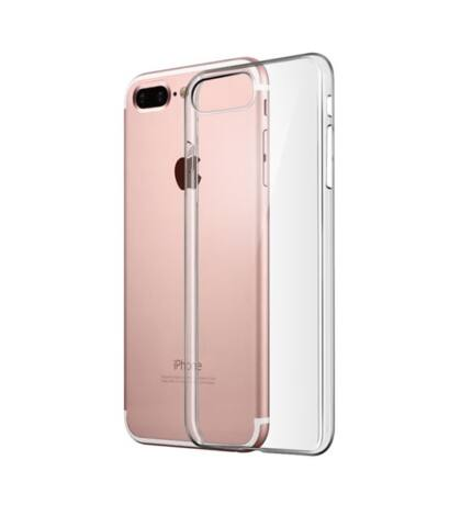 Apple iPhone 8 Plus/7 Plus Ultra Slim 0.3 mm szilikon hátlap tok, átlátszó
