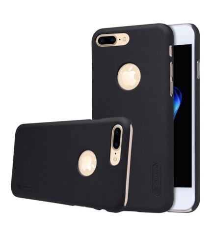 Nillkin Super Frosted hátlap tok Apple iPhone 7 Plus, fekete + ajándék kijelzővédő fólia