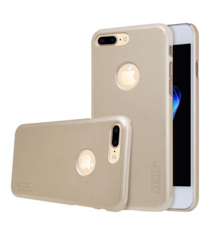 Nillkin Super Frosted hátlap tok Apple iPhone 7 Plus, arany + ajándék kijelzővédő fólia