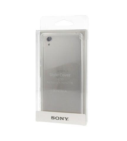 Sony Xperia X Style Cover gyári hátlap tok, átlátszó, SBC20