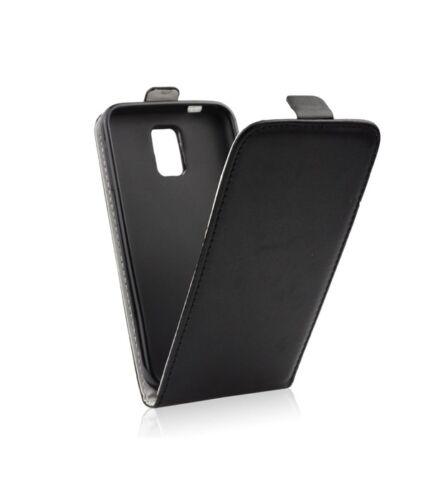 Flip tok szilikon belsővel, Huawei Y5 II/ Y6 II compact, fekete