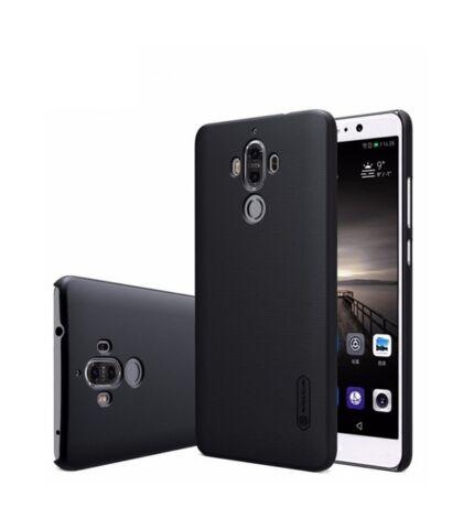 Nillkin Super Frosted hátlap tok Huawei Mate 9, fekete + ajándék kijelzővédő fólia