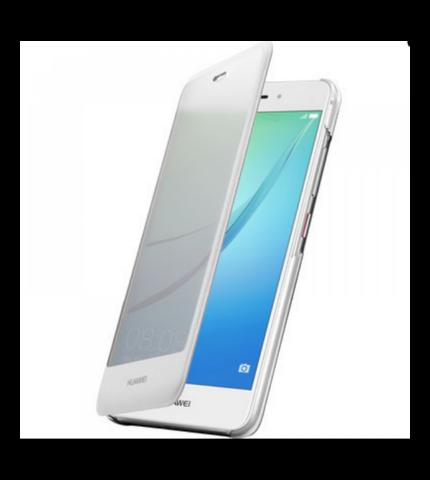 Huawei Nova gyári smart cover tok, fehér