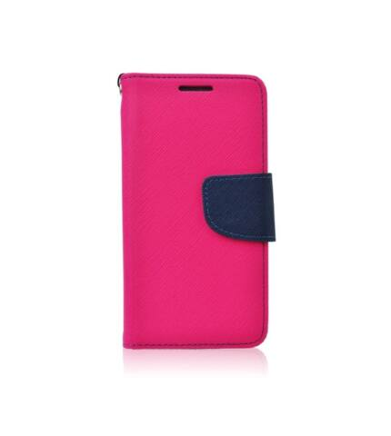 Fancy flip tok, Samsung J530 Galaxy J5 (2017), rózsaszín-kék