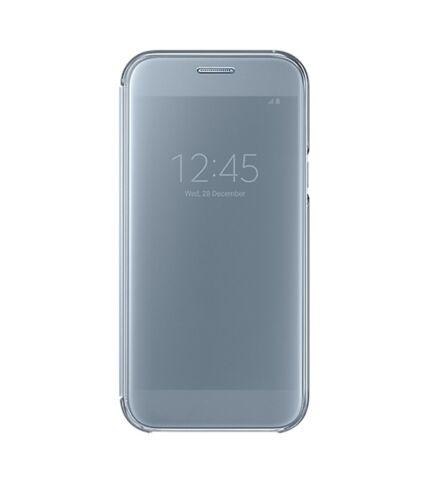 Samsung A520 Galaxy A5 (2017) gyári Clear View Cover flip tok, kék, EF-ZA520CLEGWW, (SM-A520)