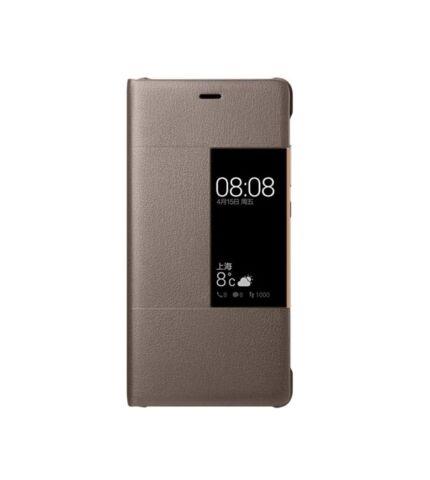 Huawei P10 Plus gyári smart cover tok, barna