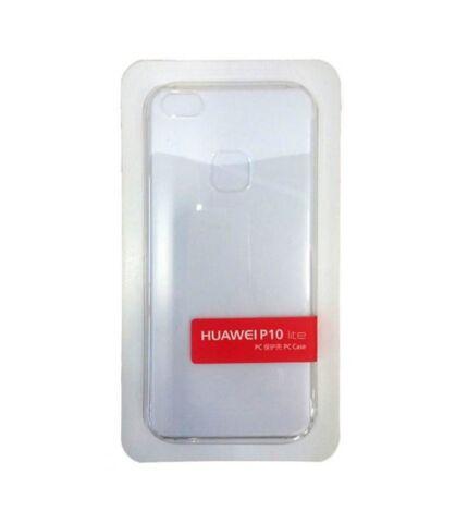 Huawei P10 Lite gyári hátlap tok, átlátszó