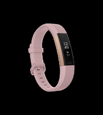 Fitbit Alta HR pulzusmérő és fitness aktivitásmérő karpánt, Large (FB408RGPKL-EU) Pink / Rose Gold Special Edition