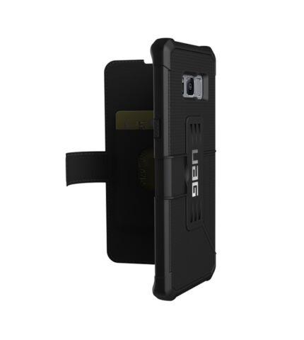 UAG Metropolis Samsung G955 Galaxy S8+ flip tok, Black