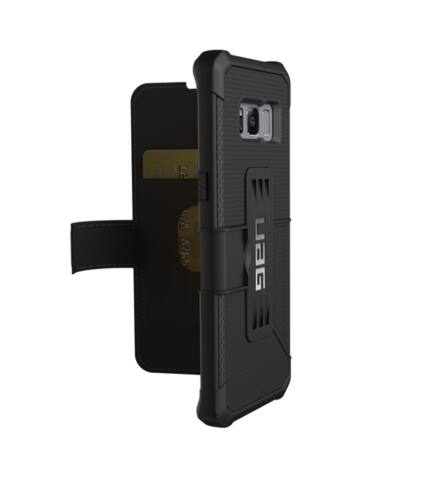 UAG Metropolis Samsung G950 Galaxy S8 flip tok, Black