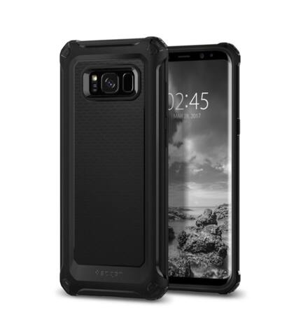 Spigen SGP Rugged Armor Extra Samsung Galaxy S8 Black hátlap tok