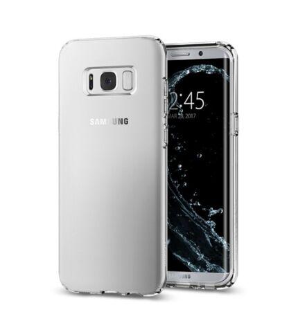 Spigen SGP Liquid Crystal Samsung Galaxy S8+ Crystal Clear hátlap tok