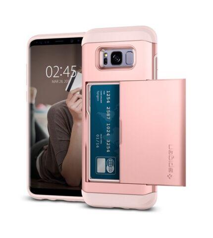 Spigen SGP Slim Armor CS Samsung Galaxy S8+ Rose Gold hátlap tok