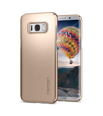 Spigen SGP Thin Fit Samsung Galaxy S8+ Gold Maple hátlap tok
